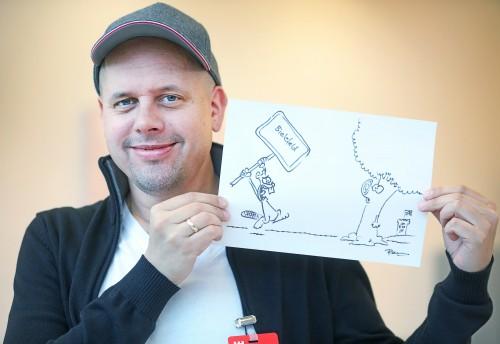 Ralph Ruthe Bielefeld Cartoon