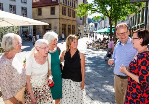 Ehrung Bielefelder Stadtführer