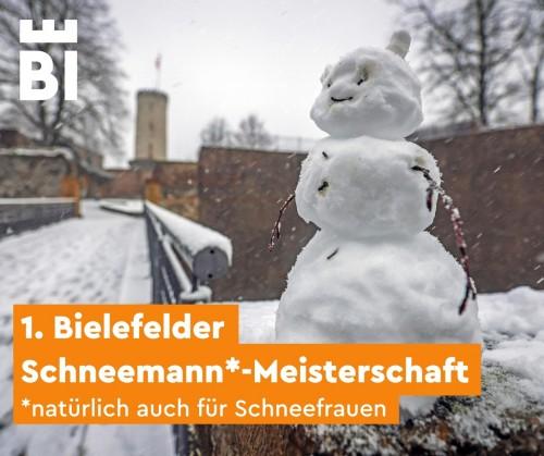 Bielefelder Schneemann-Meisterschaft