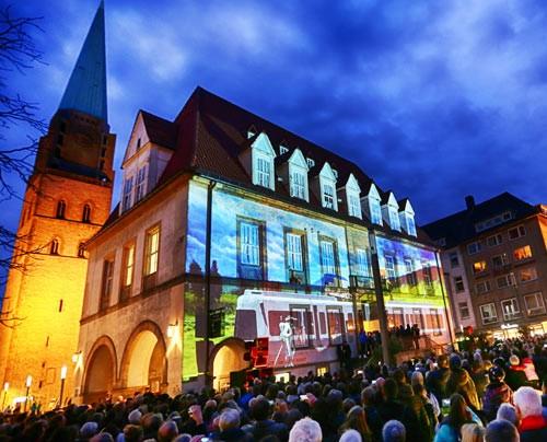 Bielefelder Weihnachtsmarkt.Veranstaltungs Management Bielefeld Marketing