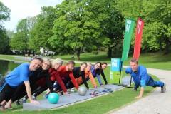 Bielefeld kommt raus! Sport im Park